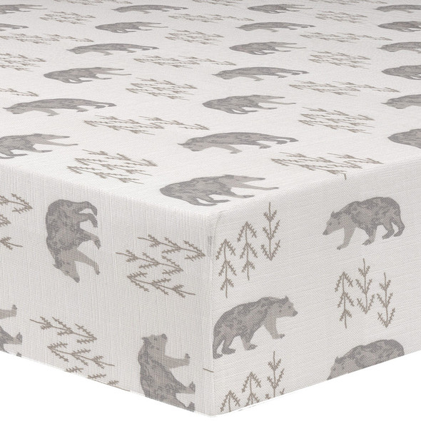 Liz and Roo Cubby (Gray/Taupe) Crib Sheet