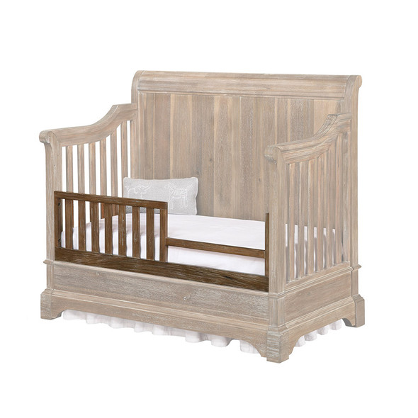 Bertini Pembrooke Toddler Guard Rail in Natural Rustic