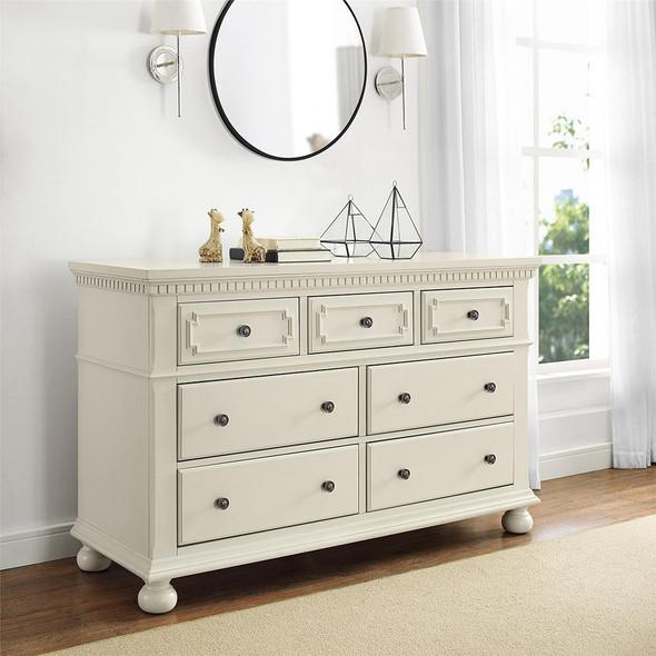 Bertini Vernay 7-Drawer Dresser in Mist