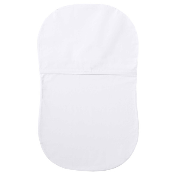 Halo Bassinet Waterproof Mattress Pad in White