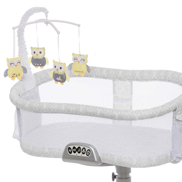 Halo Bassinet Musical Mobile in Sleepy Owl