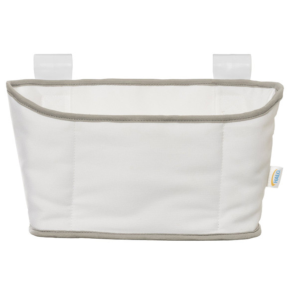 Halo Bassinet Storage Caddy in White