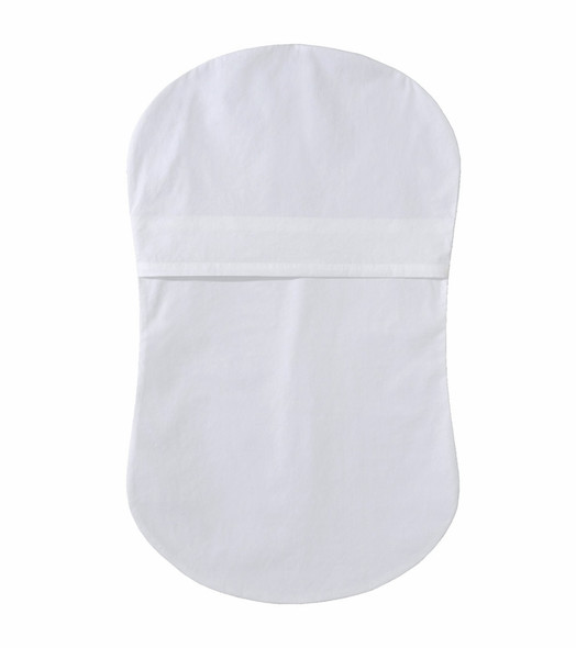 Halo Bassinet Fitted Sheet in White