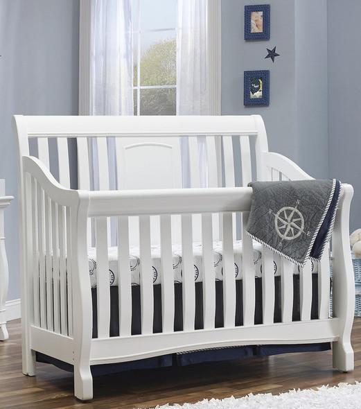 Sorelle Montgomery 4 in 1 Convertible Crib in White