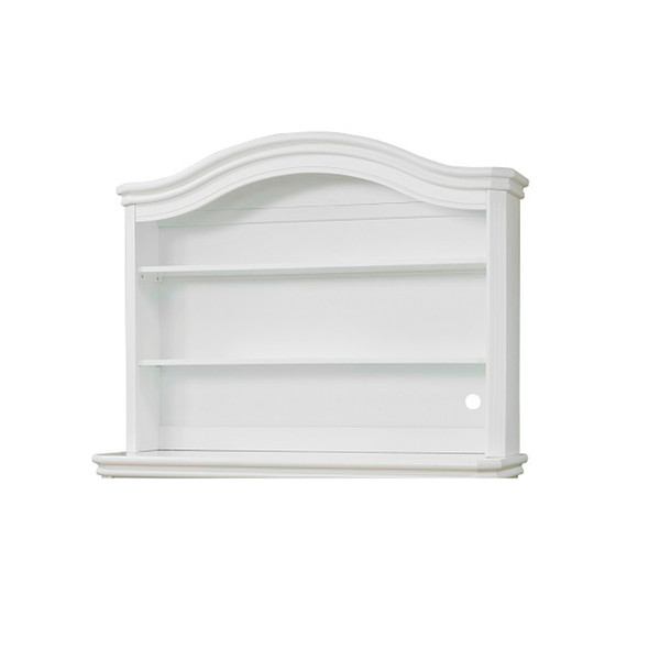 Sorelle Vista Elite Collection Bookcase Hutch in White