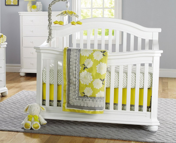 Sorelle Vista Elite Collection Convertible Crib in White