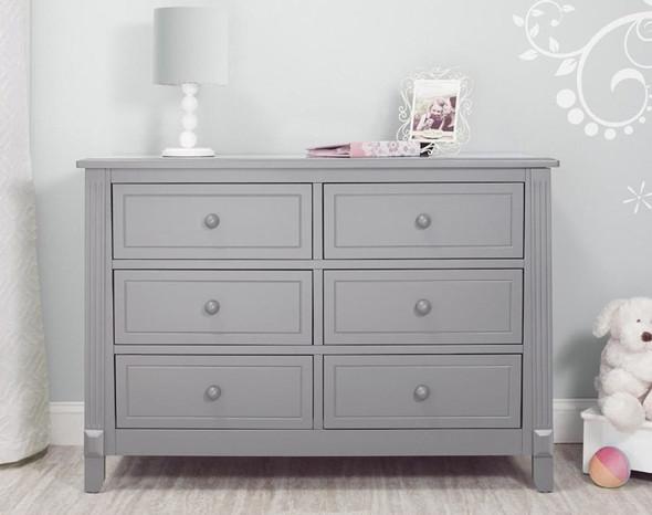 Sorelle Berkley Double Dresser in Gray