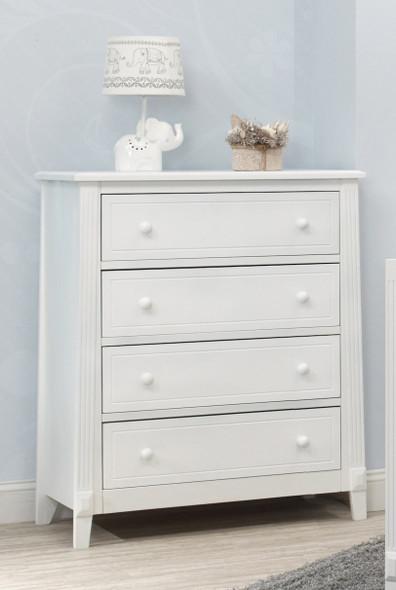 Sorelle Berkley 4 Drawer Dresser (Rta) in White