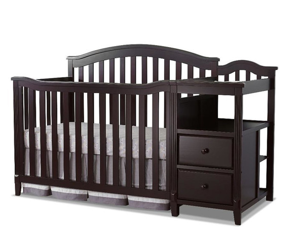 Sorelle Berkley 4 In 1 Crib N Changer in Epresso