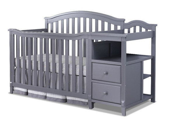 Sorelle Berkley 4 In 1 Crib N Changer in Gray