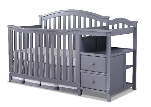 Sorelle Berkley 4 In 1 Crib N Changer in Gray