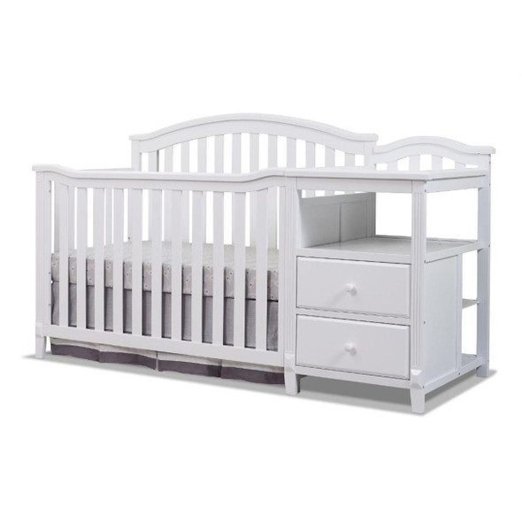 Sorelle Berkley 4 In 1 Crib N Changer in White