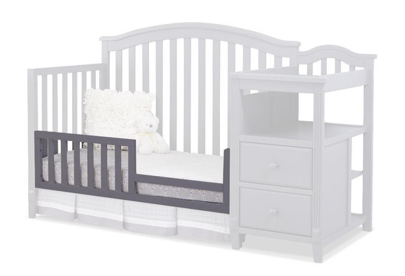 Sorelle Berkley Toddler Rail in Gray (For The 3350,335 & 500 Cribs)