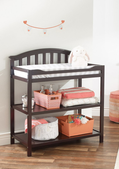 Sorelle Berkley Dressing Changing Table in Espresso
