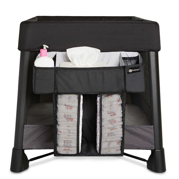 4moms Breeze Diaper Storage Caddy in Black