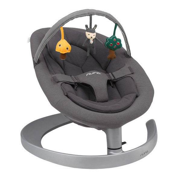 Nuna LEAF Grow Rocker in Iron - Child Seat Swing