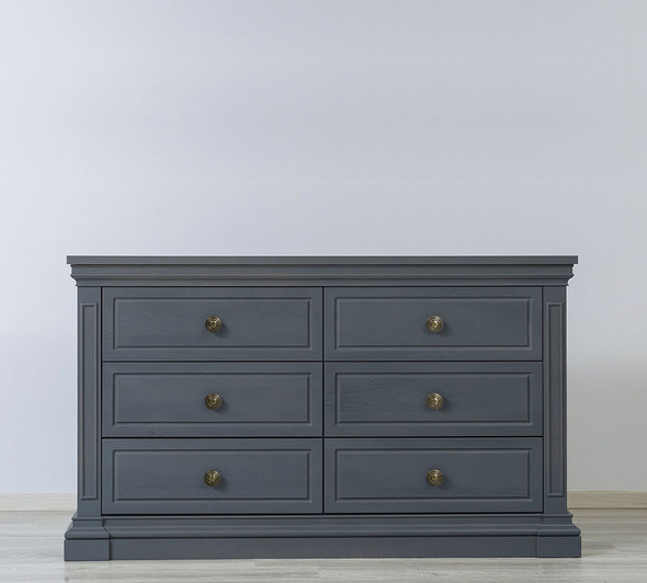 Silva Jackson 6 Drawer Dresser in Storm