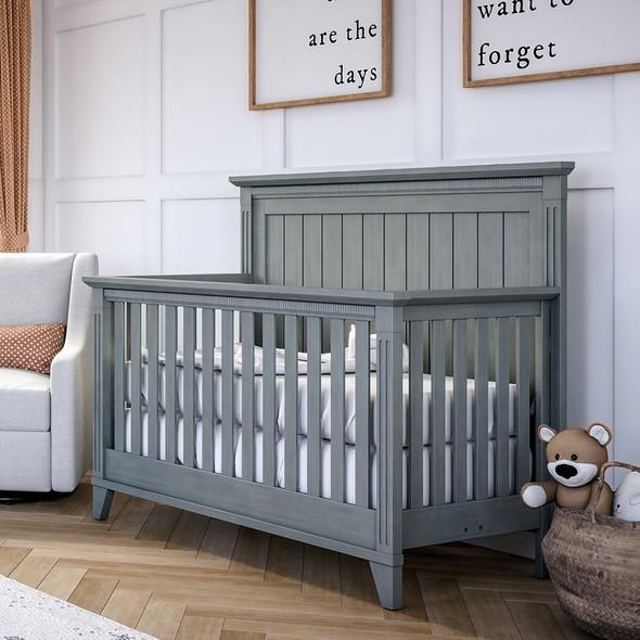 Silva Edison Convertible Crib in Flint