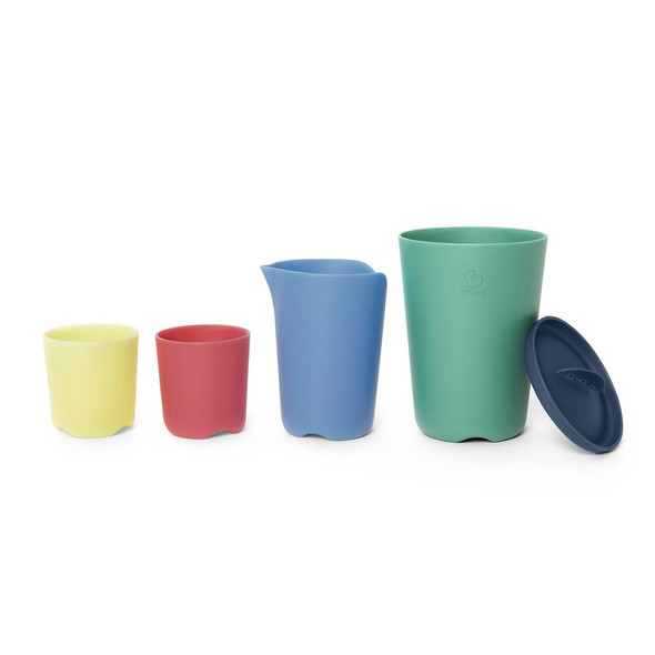 Stokke Flexi Bath Toy Cups Multi Color