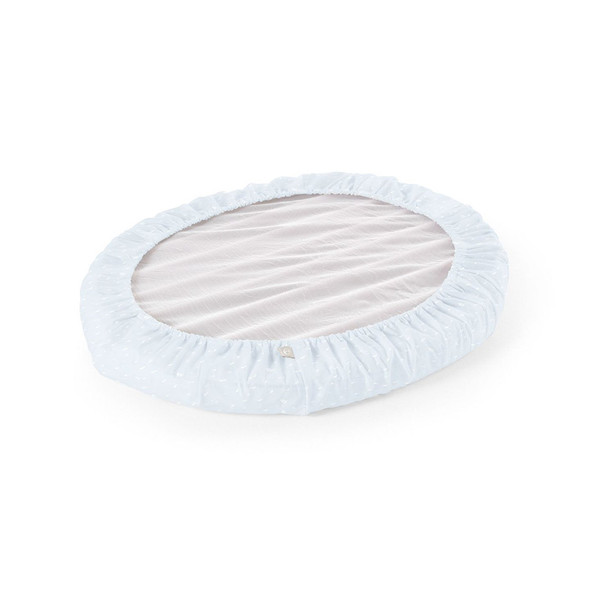 Stokke Home Bed Fitted Sheets 2pcs. in Blue Sea