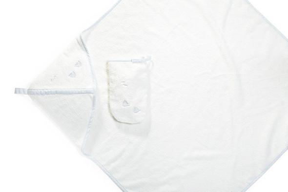 Stokke Hooded Towel in Blue sea