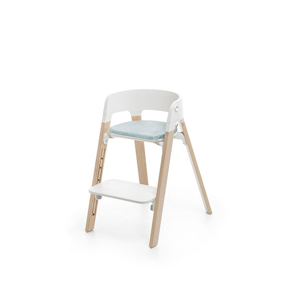 Stokke Steps Chair Cushion in Jade Twill