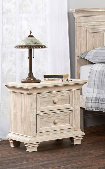 Oxford Baby Westport Collection Nightstand in Washed Sand