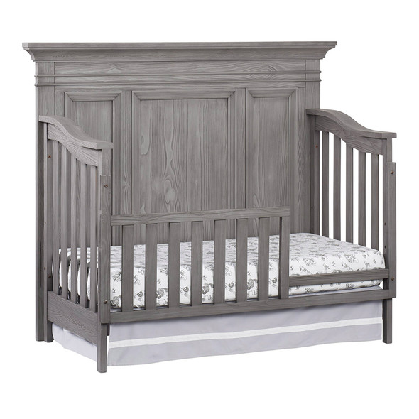 Oxford Baby Westport Collection Guard Rail in Dusk Gray