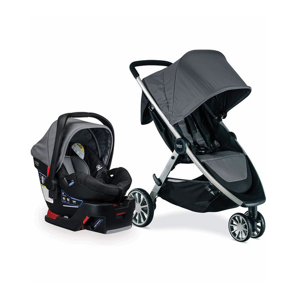 Britax B-Lively & B-Safe 35 Travel System in Dove