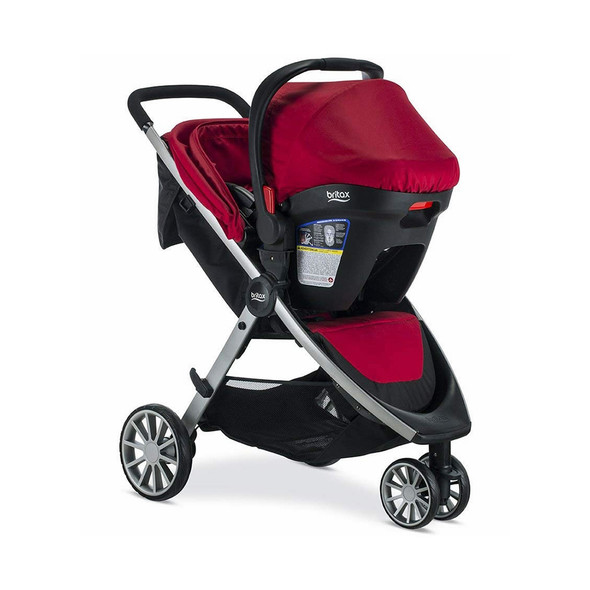 Britax B-Lively & B-Safe 35 Travel System in Cardinal