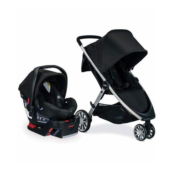 Britax B-Lively & B-Safe 35 Travel System in Raven