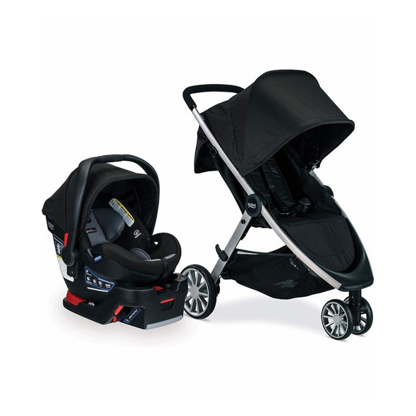 Britax B-Lively & B-Safe Ultra Travel System in Noir