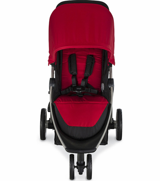 Britax B-Lively Stroller in Cardinal