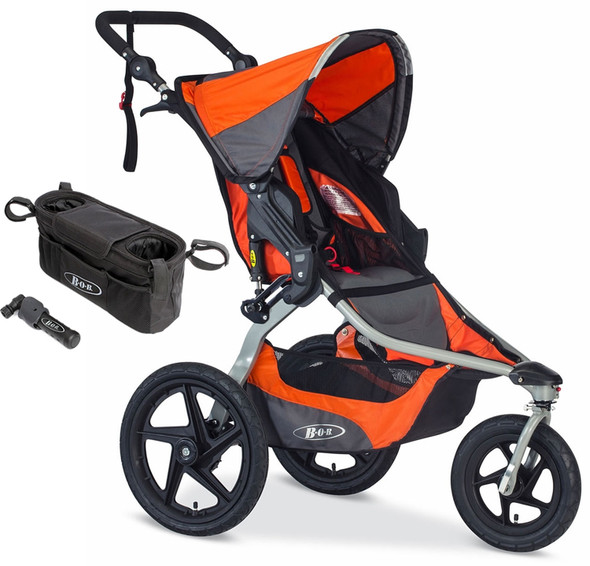 BOB Revolution Flex Single Stroller Bundle in Canyon