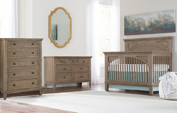 Westwood Leland 3 Piece Nursery Set in Sandwash