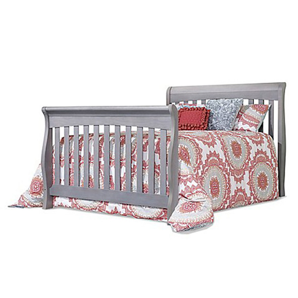 Sorelle Princeton Elite Crib & Changer Full Bed Rails in Weathered Grey