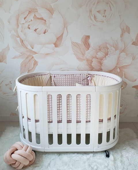 COCOON NEST Crib System in White
