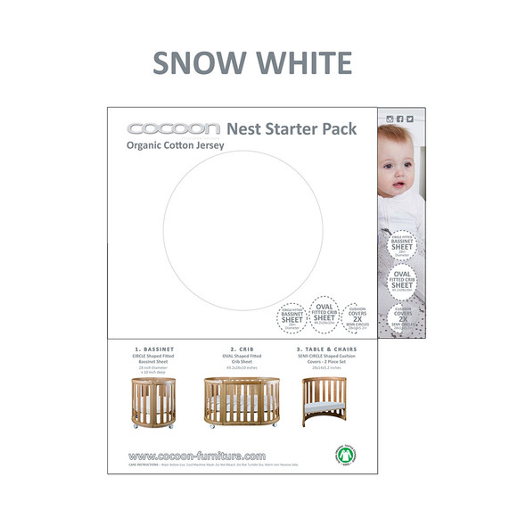 COCOON NEST Starter Pack in Snow White