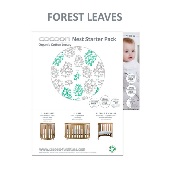 COCOON NEST Starter Pack in Forest Leaf