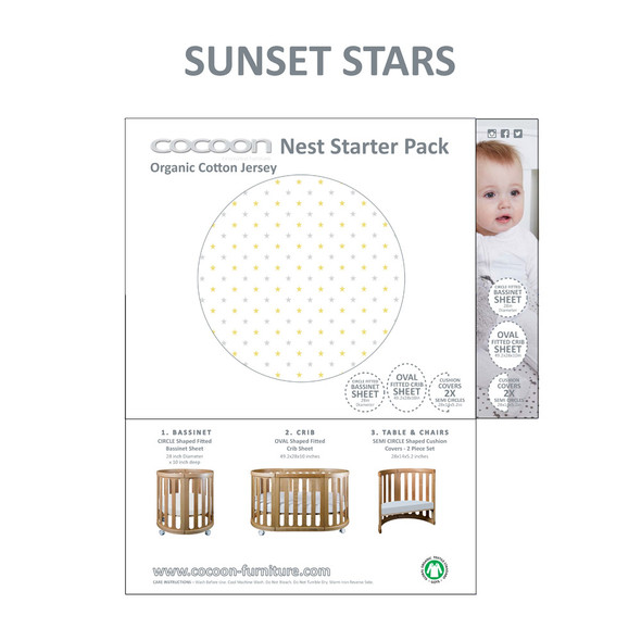 COCOON NEST Starter Pack in Sunset Stars