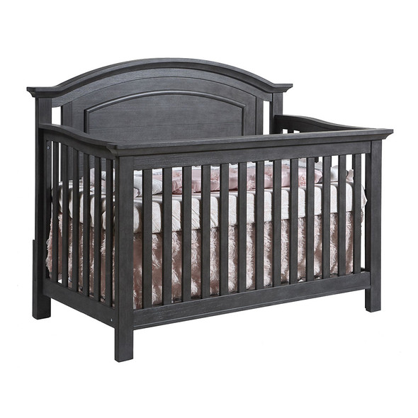 Pali Como Convertible Crib in Distressed Granite