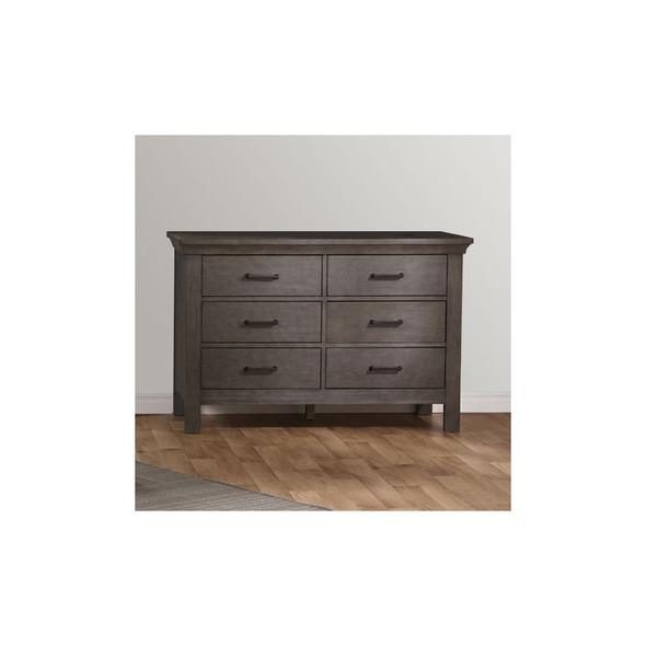 Pali Como Double Dresser in Distressed Granite