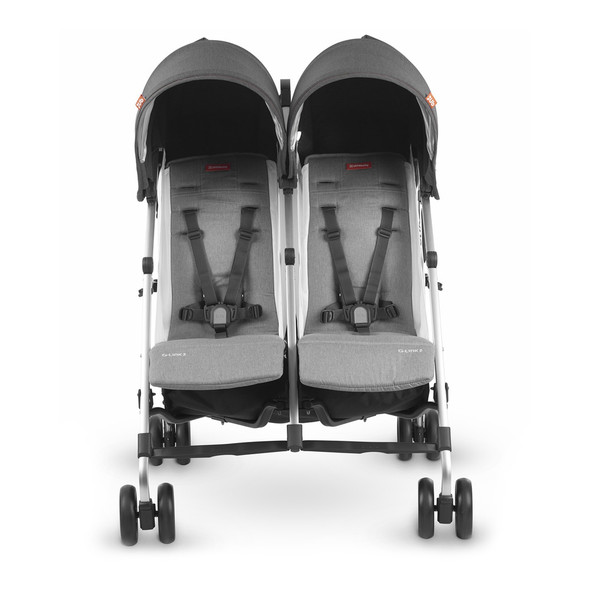 Uppa Baby G-LINK 2 Stroller in Jordan (Charcoal Melange/Silver)