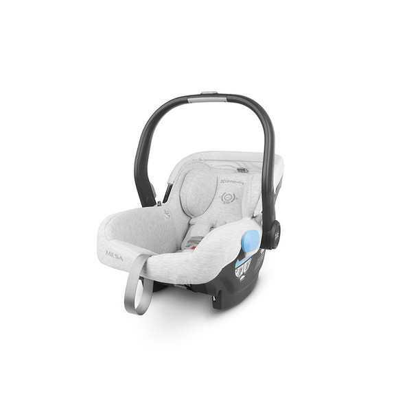 Uppa Baby MESA Infant Car Seat in Bryce (White & Grey Marl)