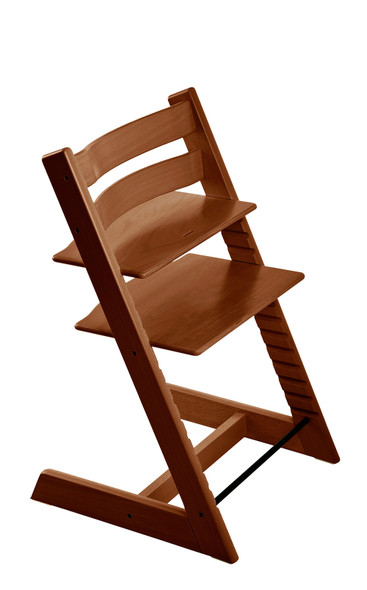 Stokke Tripp Trapp Classic Collection Chair in Walnut Brown