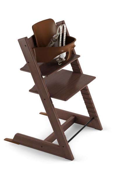 Stokke TRIPP TRAPP High Chair in Walnut Brown