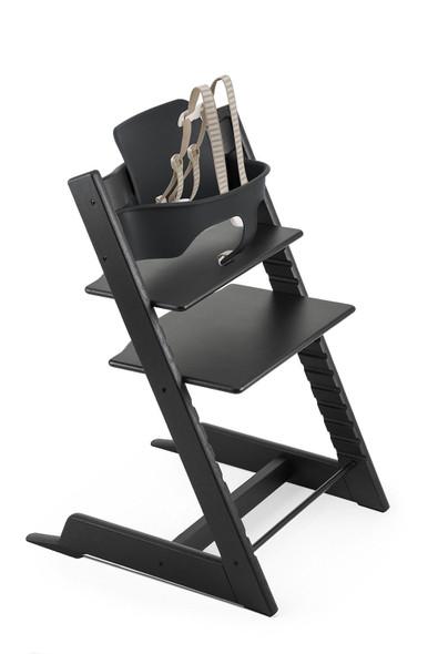 Stokke TRIPP TRAPP High Chair in Oak Black