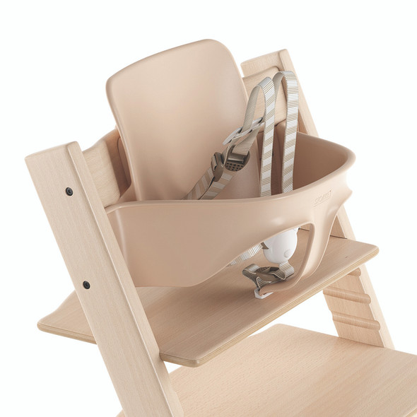 Stokke TRIPP TRAPP Baby Set with Harness and Extended Glider in Natural