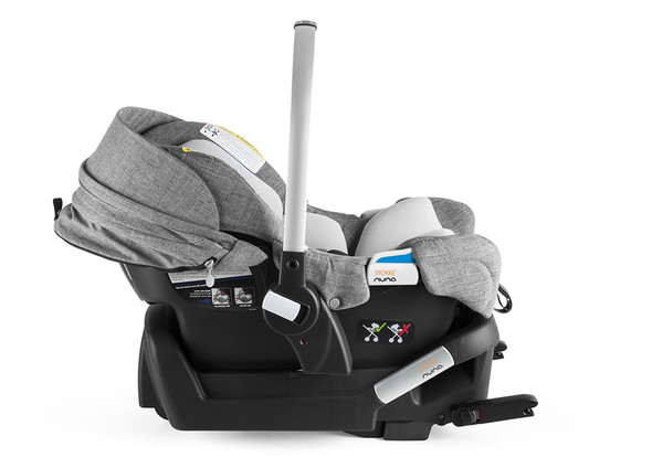 Stokke Pipa by Nuna Black Car Seat in Black Melange