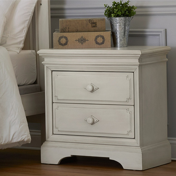 Biltmore by Heritage Amherst Nightstand in Antique White